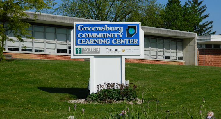 Greensburg Learning Center Sign